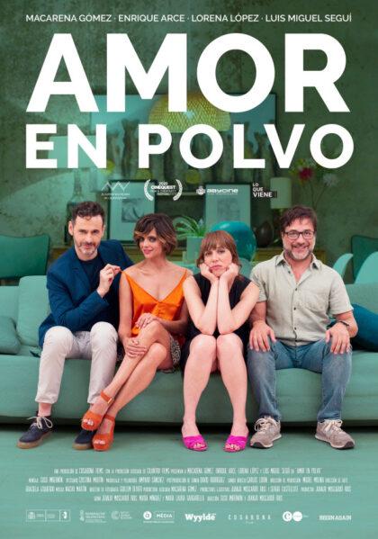 cartel de la película amor en polvo