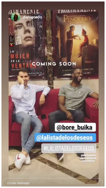 post 4 en instagram stories de la pelicula la lista de los deseos